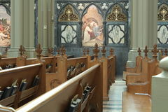 Basílica Covington KY de la catedral de St Mary Fotos de archivo