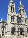 Basílica da catedral da concepção imaculada Fotografia de Stock
