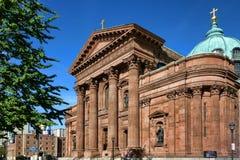 Basílica da catedral de Saint Peter e Paul imagens de stock