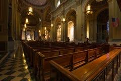 Basílica da catedral de Saint Peter e Paul Fotos de Stock Royalty Free