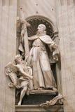 Basílica da escultura - Vaticano, Itália imagem de stock royalty free