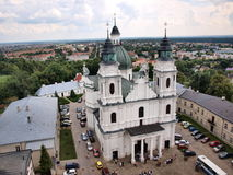 Basílica da natividade do Virgin Mary, Chelm, Poland Fotografia de Stock