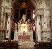 Basílica da saudação do del de Santa Maria Foto de Stock Royalty Free