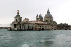 A basílica da saudação do della de Santa Maria. Fotos de Stock Royalty Free