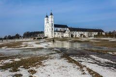 Basílica de Aglona imagen de archivo