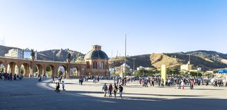 Basílica de Aparecida - capilla nacional Fotos de archivo libres de regalías