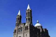 Basílica de Apizaco mim Foto de Stock Royalty Free