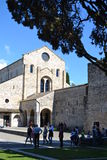 Basílica de Aquileia, Itália fotografia de stock royalty free