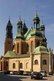 Basílica de Archcathedral de San Pedro y de San Pablo. Poznán. Polonia fotos de archivo