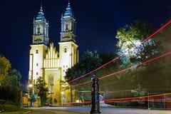 Basílica de Archcathedral de San Pedro y de San Pablo. Poznán. Polonia imagen de archivo libre de regalías