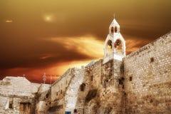 Basílica de Bethlehem da natividade Fotos de Stock Royalty Free