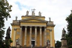 Basílica de Eger Imágenes de archivo libres de regalías