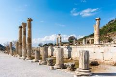 Basílica de Ephesus, Turquia Imagem de Stock