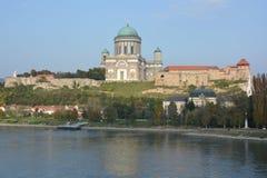 Basílica de Esztergom (Hungría) Foto de archivo libre de regalías