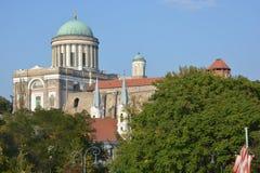 Basílica de Esztergom (Hungría) Imagen de archivo libre de regalías