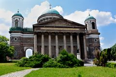 Basílica de Esztergom, Hungria Imagem de Stock Royalty Free