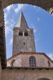 Basílica de Euphrasian em Porec, Croácia Foto de Stock Royalty Free