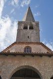 Basílica de Euphrasian em Porec, Croácia Fotografia de Stock Royalty Free