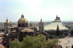 Basílica de Guadalupe Imágenes de archivo libres de regalías