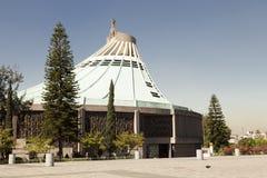 Basílica de Guadalupe em Cidade do México Foto de Stock Royalty Free