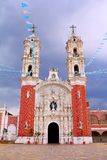 Basílica de III ocotlan Fotografia de Stock
