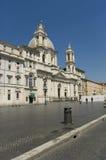 Basílica de Inés del santo fotografía de archivo