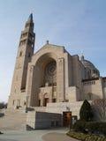 Basílica de la capilla nacional del inmaculado Foto de archivo libre de regalías