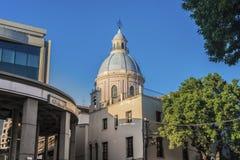 Basílica de la catedral en Salta, la Argentina Imágenes de archivo libres de regalías