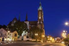 Basílica de la catedral de la suposición de la Virgen María bendecida Fotos de archivo