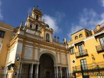 Basílica de la Macarena. Basílica de la Macarena In Seville Spain Stock Photo