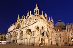 Basílica de la marca del St en Venecia, Italia Fotografía de archivo