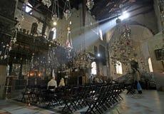 Basílica de la natividad, Belén imagen de archivo libre de regalías