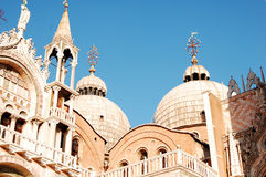 Basílica de las St-Marcas de Venecia Imagenes de archivo