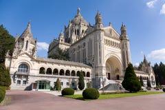 Basílica de Lisieux foto de stock royalty free