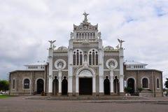 Basílica de Los Ángeles, Costa Rica fotografía de archivo