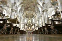 Basílica de los catorce ayudantes santos, Alemania Imágenes de archivo libres de regalías