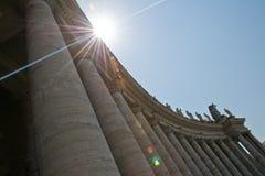 Basílica de los peters del St. Imagen de archivo