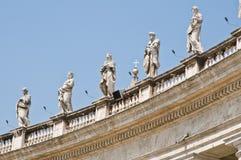 Basílica de los peters del St. Foto de archivo libre de regalías