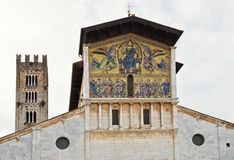 Basílica de Lucca de San Frediano Foto de archivo libre de regalías