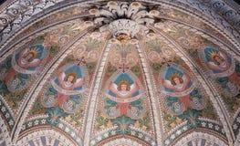 Basílica de Lyon abajo Fotografía de archivo libre de regalías