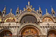 A basílica de marca de Saint detalha Veneza Italy fotos de stock royalty free