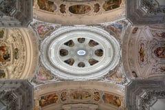 Basílica de Mariazell - cúpula imagens de stock