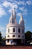 Basílica de nossa senhora da boa saúde no velankanni imagens de stock