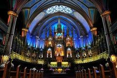 Basílica de Notre Dame   Imagem de Stock Royalty Free