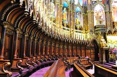 Basílica de Notre Dame   Foto de archivo