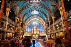 Basílica de Notre-Dame Foto de Stock Royalty Free