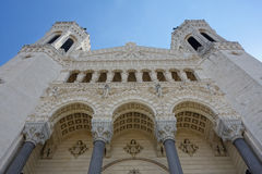 Basílica de Notre-Dame de Fourviere Fotografía de archivo