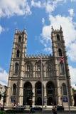 Basílica de Notre Dame en Montreal Foto de archivo libre de regalías