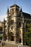 Basílica de Notre Dame, Ginebra Imagenes de archivo