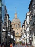 Basílica de Nuestra Señora de Pilar de Calle de Alfonso mim imagem de stock royalty free